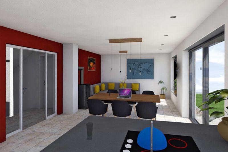 Einfamilienhaus in Barbing, Landkreis Regensburg, Planung Wohnen