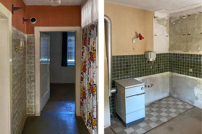Sanierung eines Wohnhauses im Westen von Regensburg, Stadt Regensburg, Innenansichten vorher