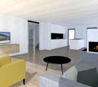 Neubau Einfamilienhaus In Barbing, Lkr. Regensburg, Planung Wohnbereich