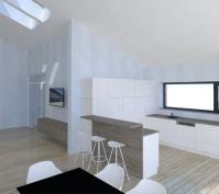 Neubau Eines Einfamilienhauses In Mötzing-Dengling, Landkreis Regensburg, Entwurf Küchenbereich