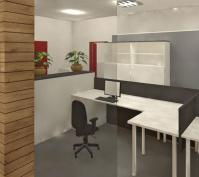 Innengestaltung Büroräume In Obertraubling, Lkr. Regensburg, Innenansicht Arbeitsplatz