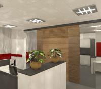 Innengestaltung Büroräume In Obertraubling, Lkr. Regensburg, Innenansicht