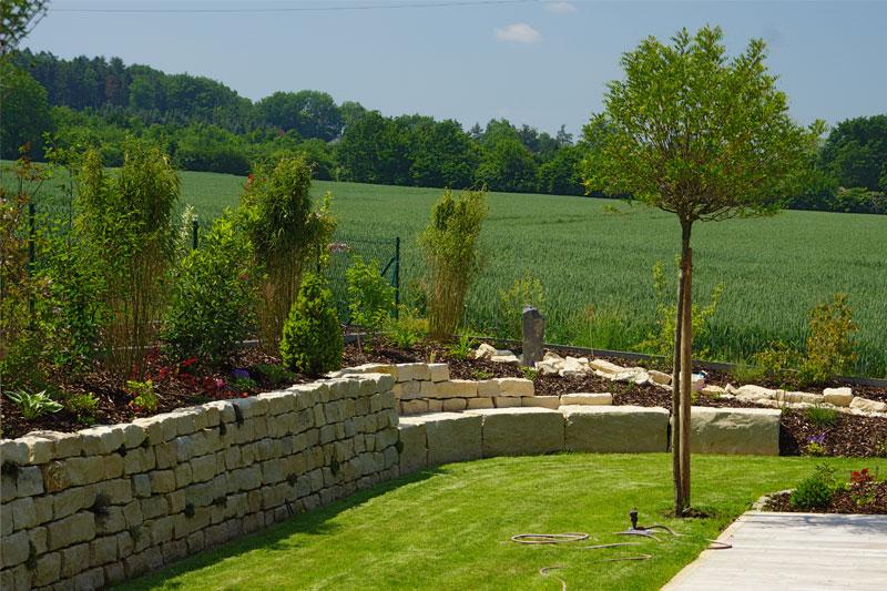 Gartengestaltung merkl architektur for Gartengestaltung neubau