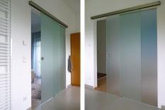 Interieur Glasschiebetür
