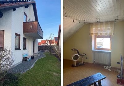 Sanierung eines Einfamilienhauses mit energetischer Instandsetzung, Oberisling, Landkreis Regensburg, Ausgangslage