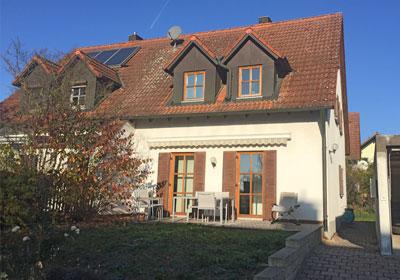 Sanierung Doppelhaushälfte in Alteglofsheim, Lkr. Regensburg